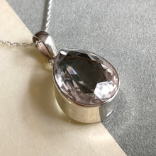 Load image into Gallery viewer, Crystal Quartz Teardrop Pendant