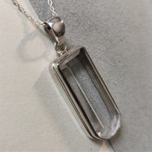 Load image into Gallery viewer, Crystal Quartz Drop Pendant