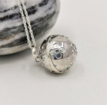 Load image into Gallery viewer, Large Sterling Silver Harmony Ball Pendant