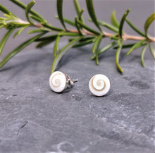 Load image into Gallery viewer, Shiva Eye Stud Earrings Sterling Silver