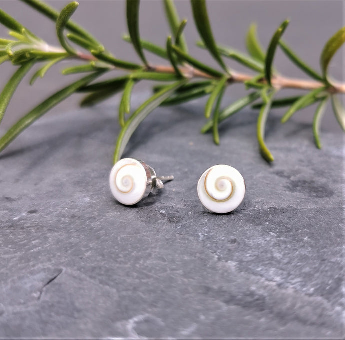 Shiva Eye Stud Earrings Sterling Silver
