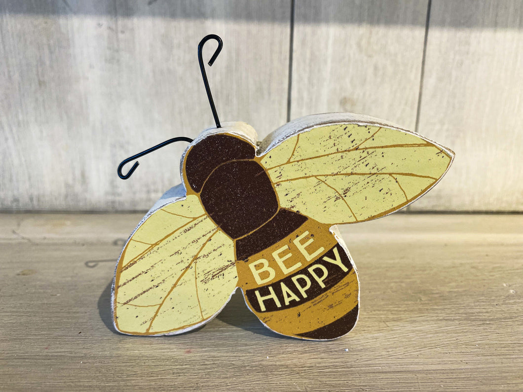Bee Happy Shelf Sitter