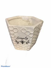 Load image into Gallery viewer, Simply Ceramic Bee Planter Home Decor