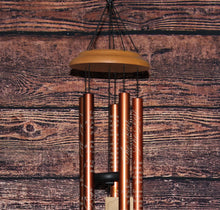 "Load image into Gallery viewer, Grieve Not for Me 33"" Wood Sonnet Tree Memorial Windchime"
