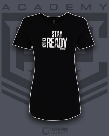 Stay Ready Women's Fitted T-Shirt