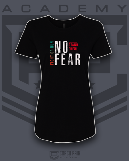 No Fear Women's Fitted T-Shirt