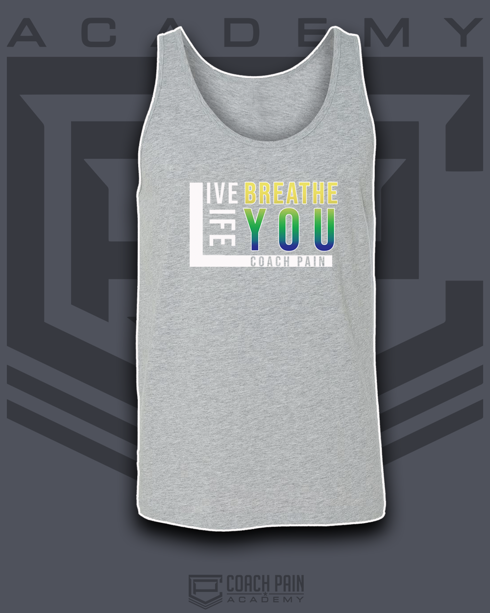 Live Breath Life You Men's Tank