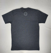 Load image into Gallery viewer, Limited Addition Adult Unisex Crew Tee Charcoal Grey Kauai Logo Front