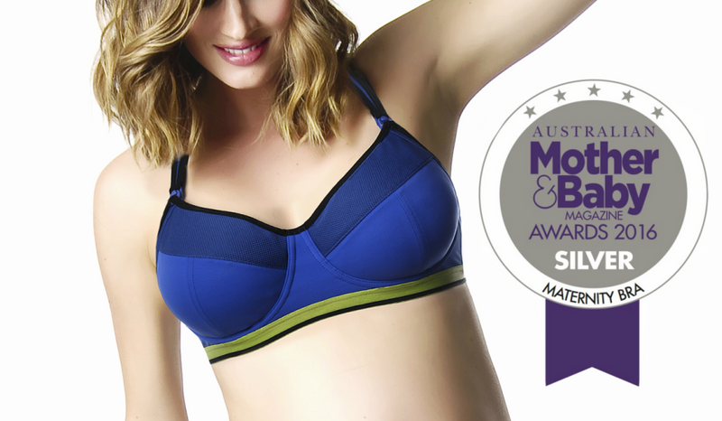 Hotmilk's Activate Sports Bra WINS Silver at this years Mother and Baby Awards