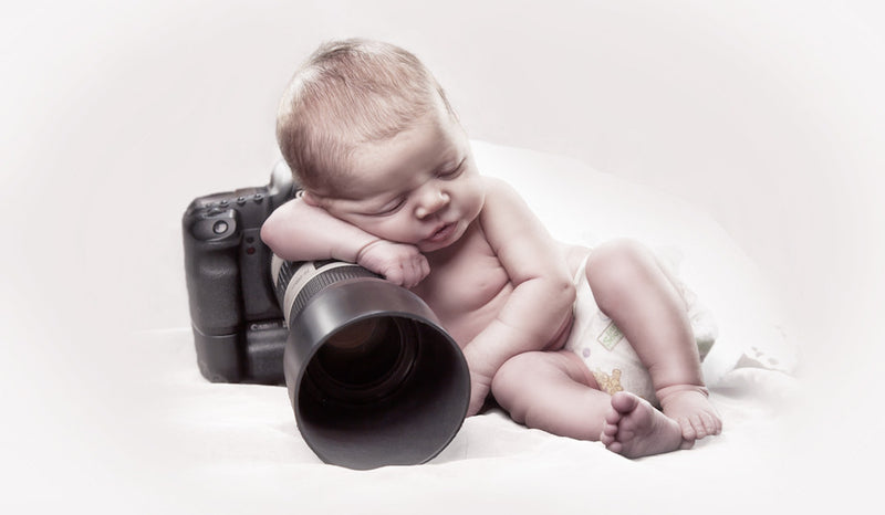 Tips for taking gorgeous photos of your own baby!