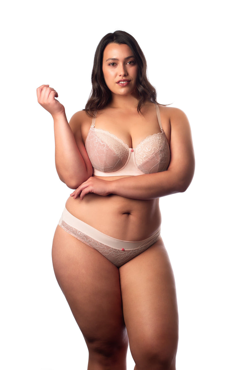 Temptation powder Hotmilk full cup nursing bra