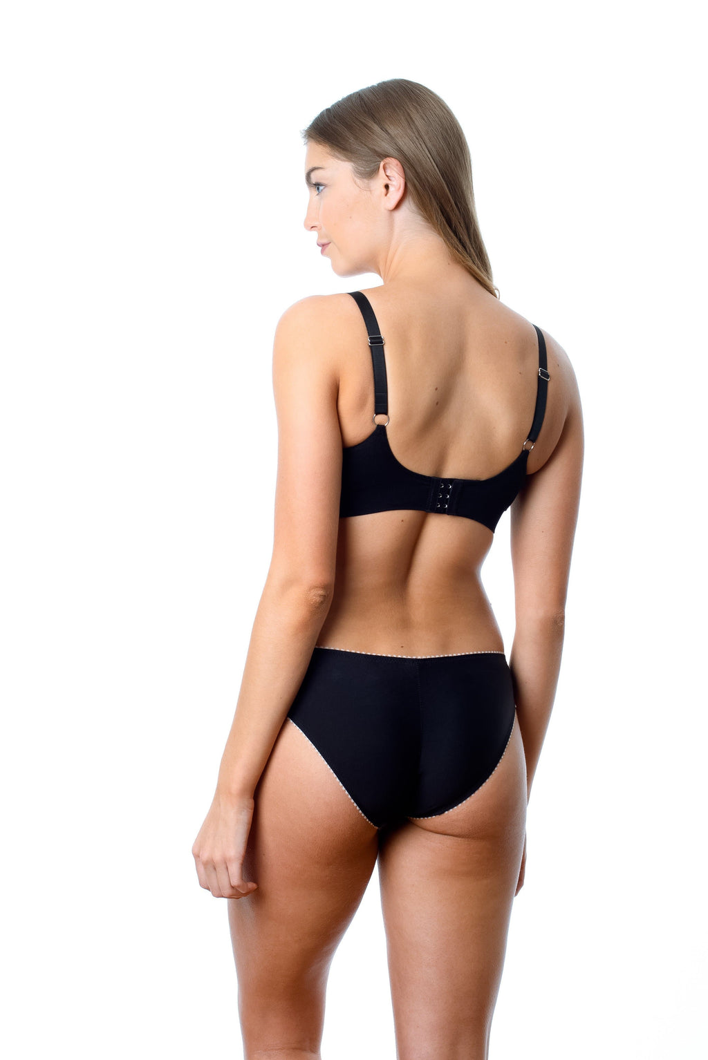 MY COMFORT BRA JET BLACK - WIREFREE