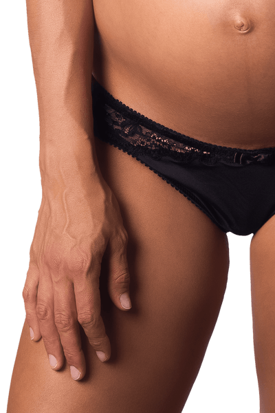 ECLIPSE JET BLACK BIKINI BRIEF