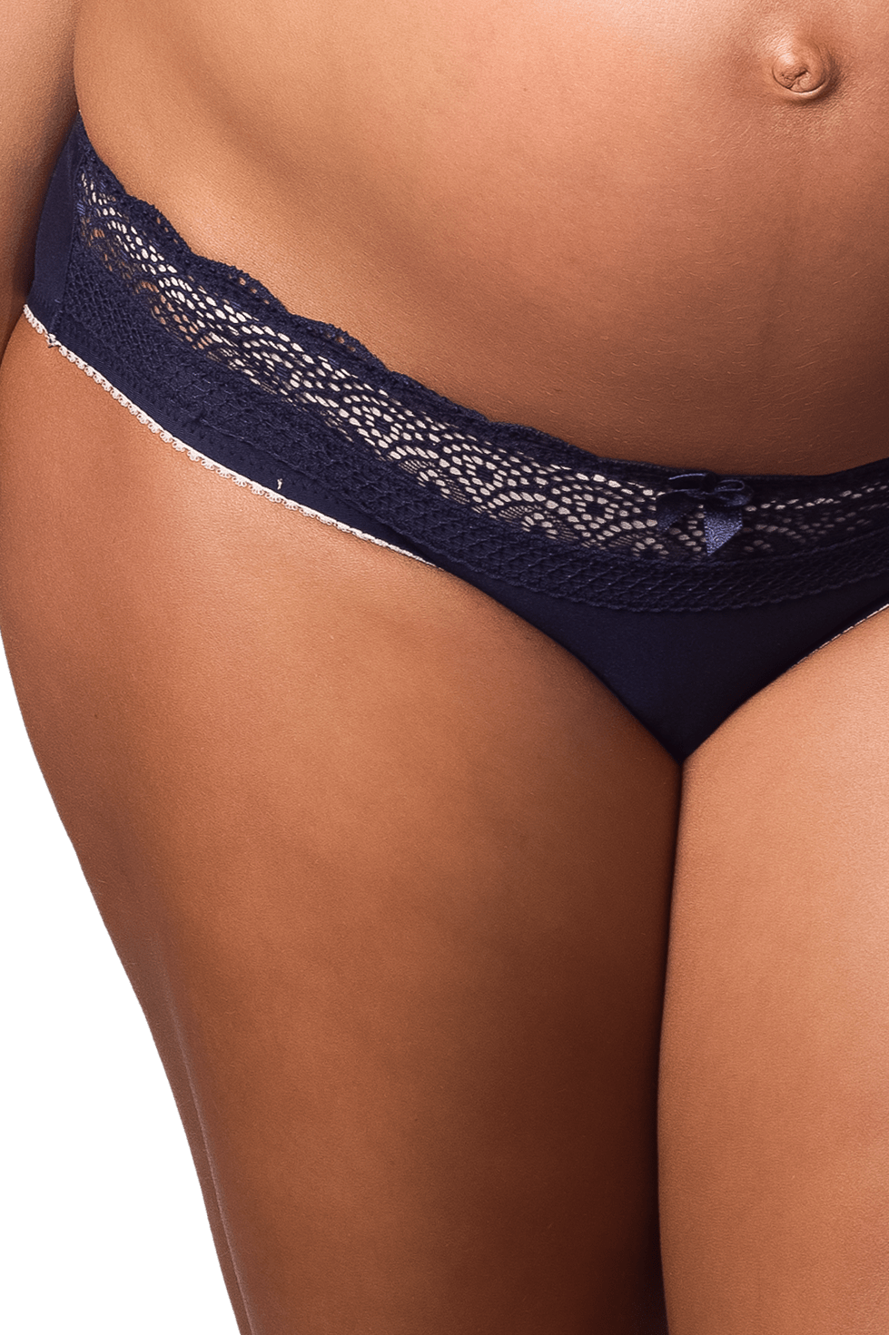 Hotmilk Lingerie Show Off Navy Bikini Brief