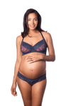 HOTMILK TEMPTATION MOOD INDIGO FLEXIWIRE NURSING and PREGNANCY BRA