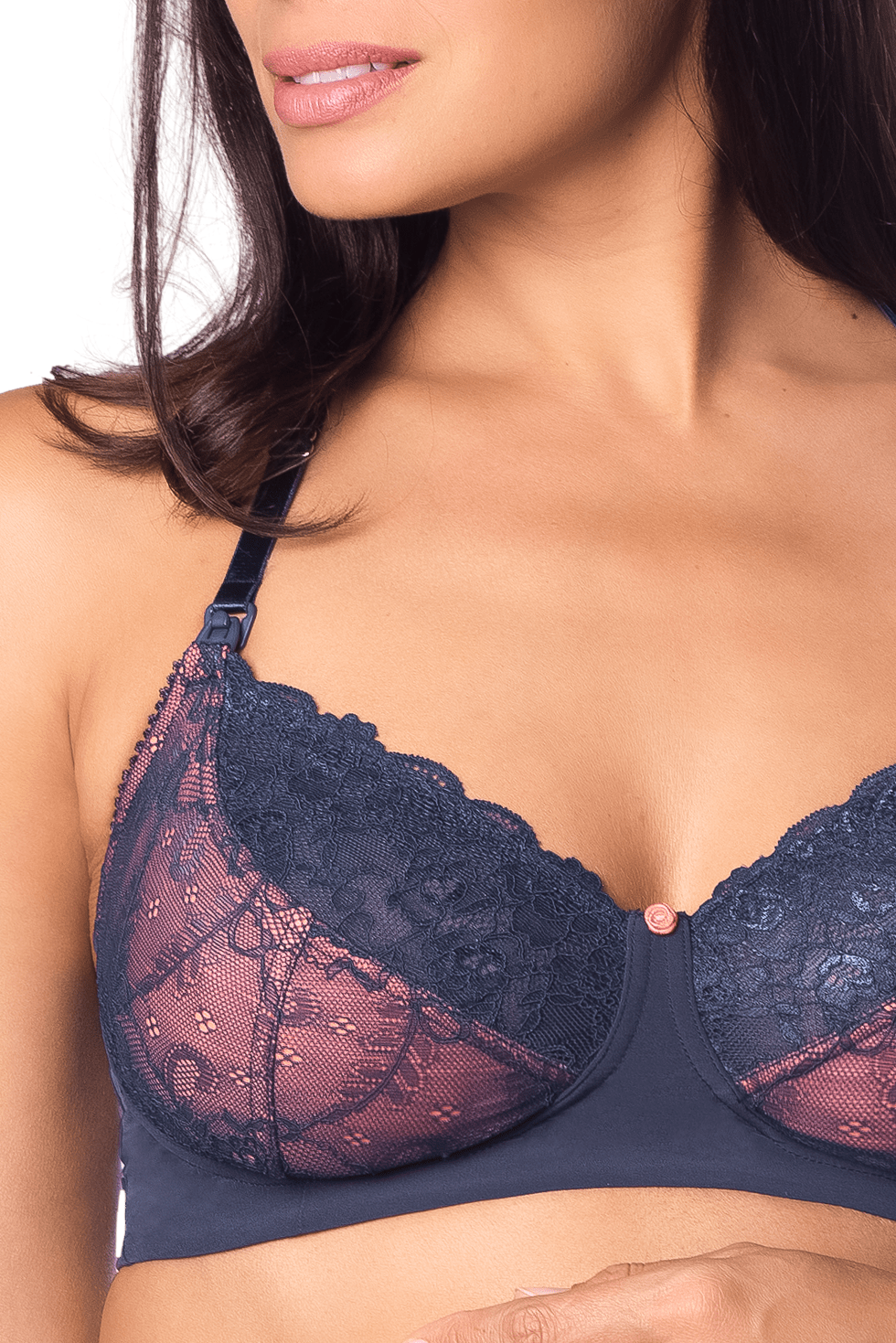 HOTMILK TEMPTATION MOOD INDIGO FLEXIWIRE NURSING BRA