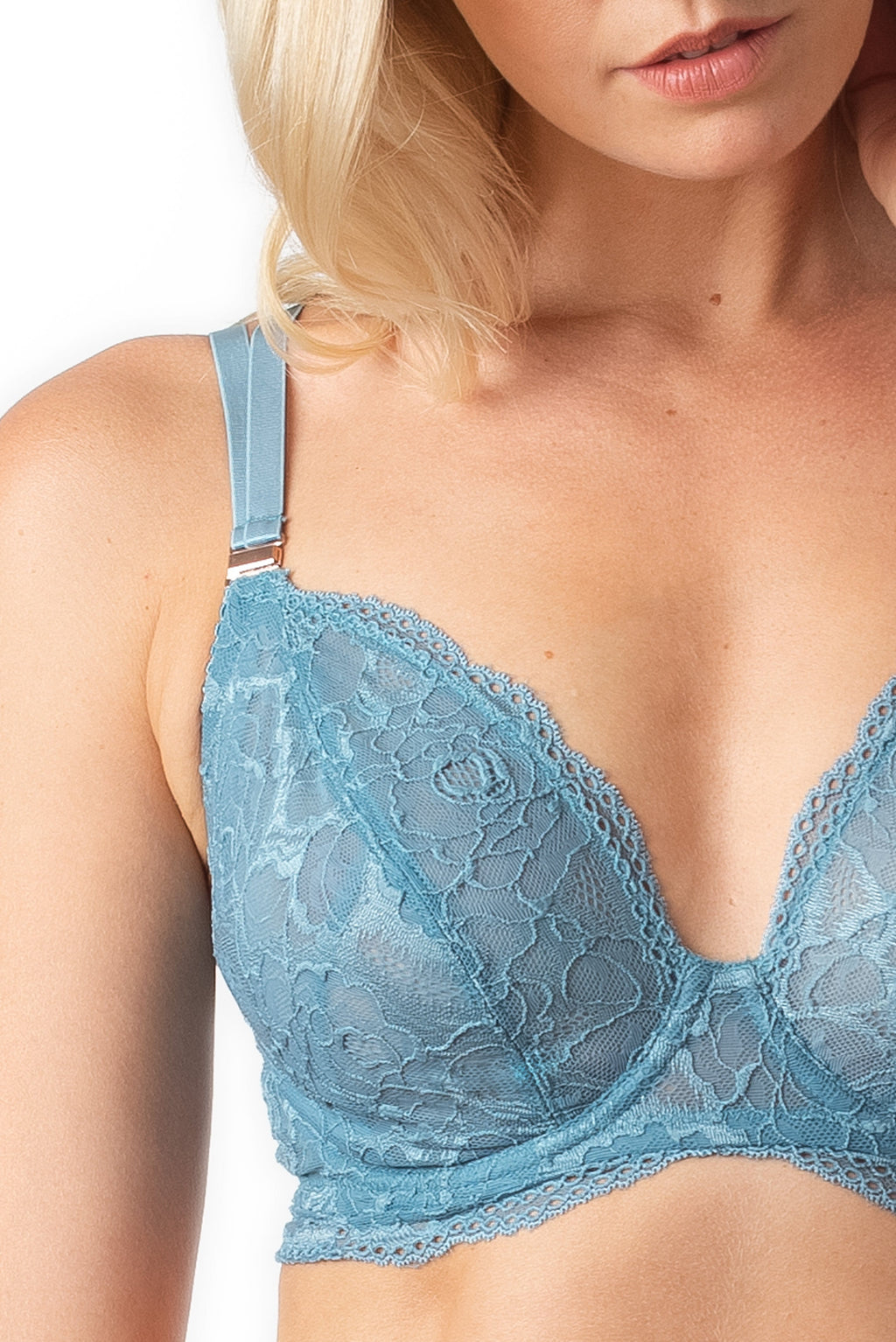 Hotmilk Projectme HEROINE PLUNGE MONSOON Pregnancy Breastfeeding NURSING BRA - FLEXI UNDERWIRE