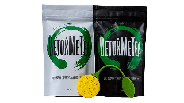 14 Day Detox Tea & Cleanse Tea Combo - DETOXMETEA - Free World Shipping, Detox Skinny Weightloss Tea