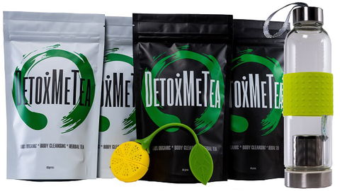 Weight Loss Detox Tea 28 Day Body Transform Pack - DETOXMETEA - Free World Shipping, Detox Skinny Weightloss Tea
