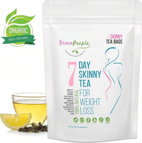 7 Day Natural Skinny Herbal Detox Tea