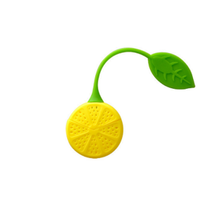 Lemon Shape Silicone Tea Strainer