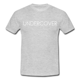 T-Shirt col rond « Undercover » simple - gris chiné