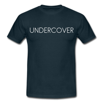 T-Shirt col rond « Undercover » simple - marine