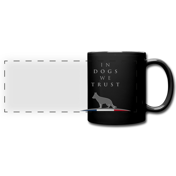 Mug « In dogs we trust » - noir