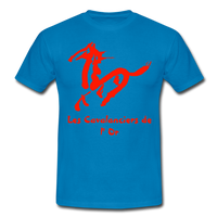 T-Shirt col rond « Les Cavalanciers de l'Or » max - bleu royal