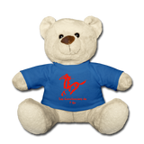 Teddy Bear « Les Cavalanciers de l'Or » max - bleu roi