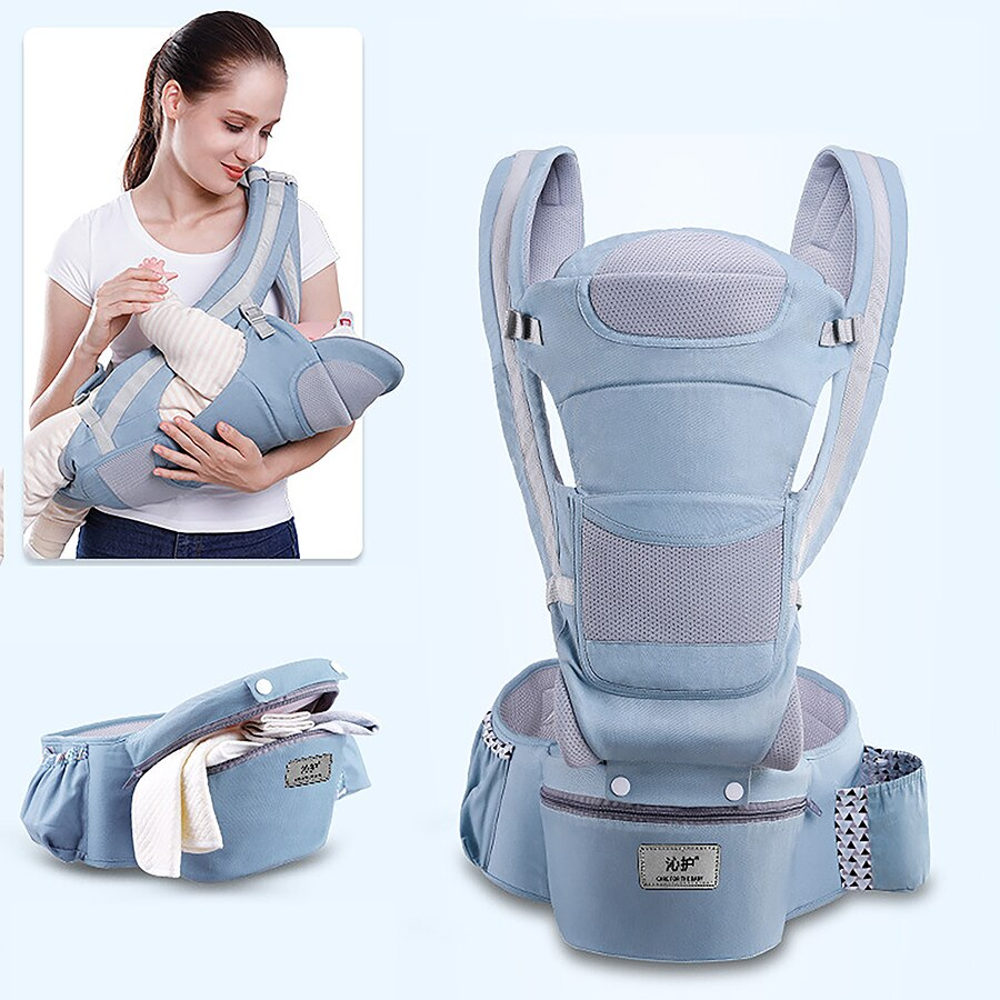 Multifunctional Baby Carrier Infant Baby Hipseat Carrier Front Facing Ergonomic Kangaroo Baby Wrap Sling baby accessories