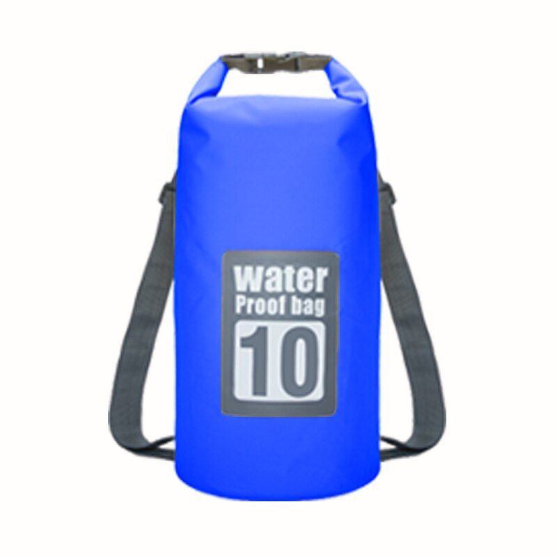 5L/10L/15L Waterproof Bags Storage Dry Sack Bag For Canoe Kayak Rafting Outdoor Sport Swimming Bags Travel Kit Backpack #ED