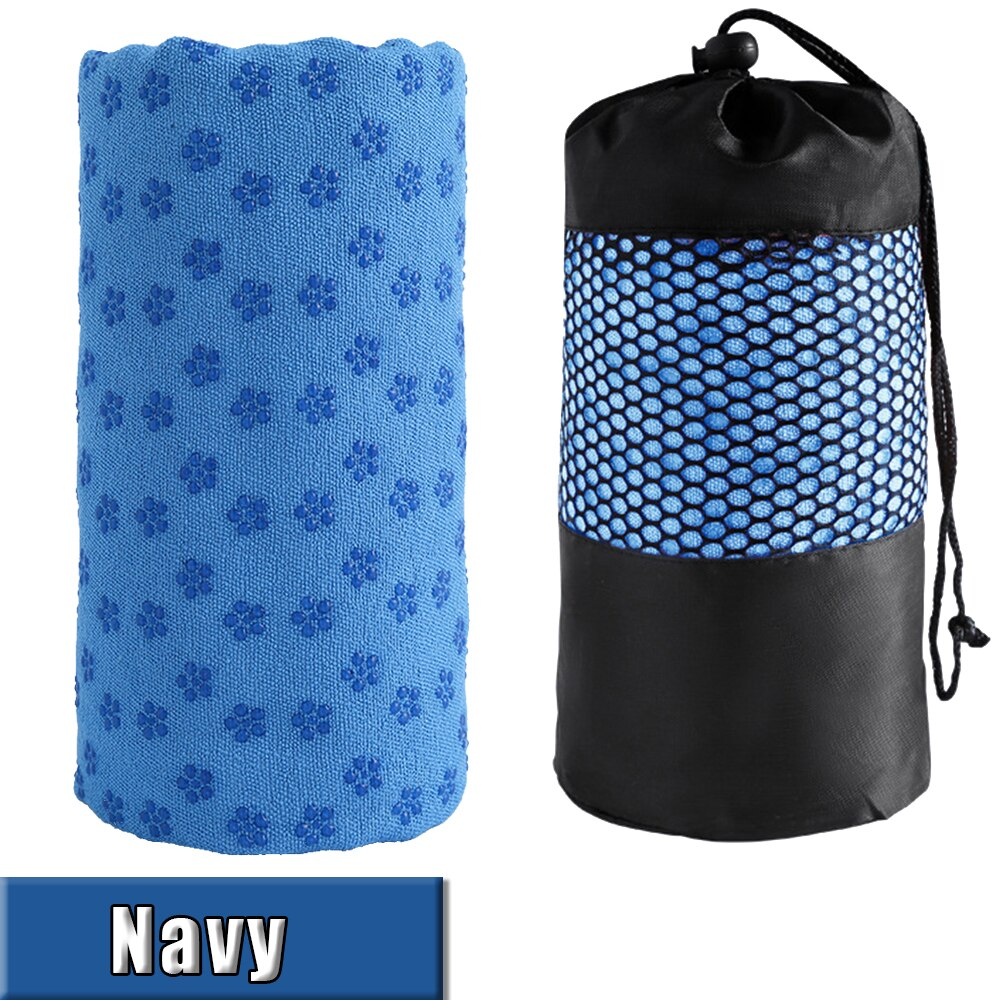 Yoga Towel Non Slip Cotton Yoga Mat Microfiber Towel Blanket Sport Yoga Accessories Fitness Sweat Absorbing Towel D30