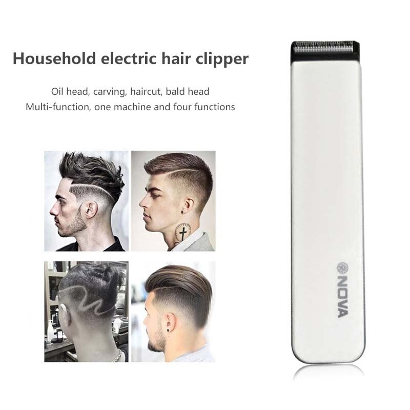 Electric clippers adult home electric shaving head hair clipper mute electric fader beard trimming wholesale without oil