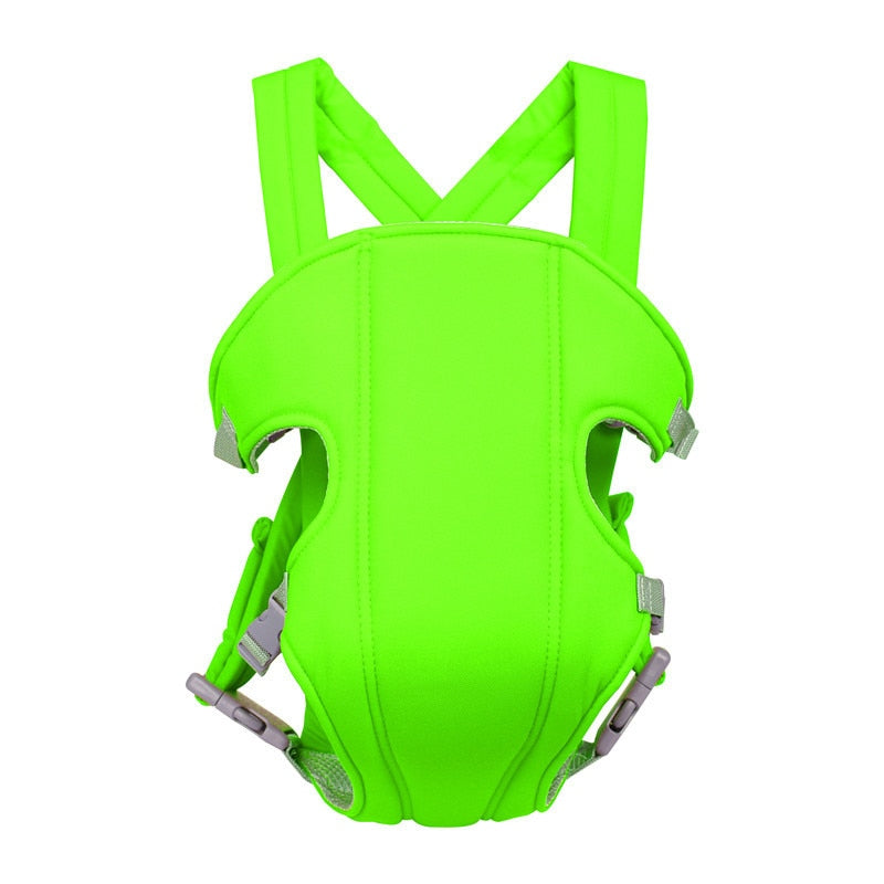 6 Colors 15kg Breathable Front Facing Baby Carrier Comfortable Sling Backpack Pouch Wrap Baby Kangaroo Adjustable Safety Carrier