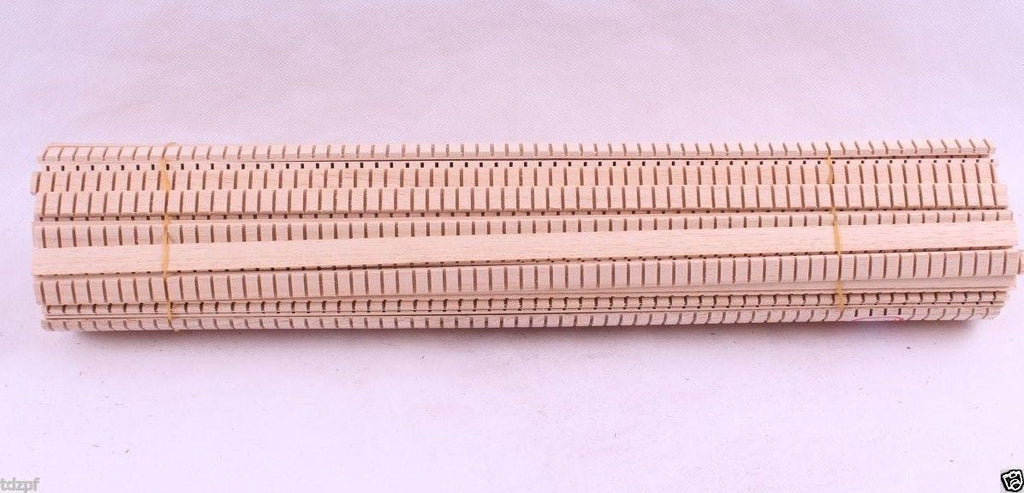 25x Strip Small Guitar Luthier Purfling Wood Lining Ukulele Guitar Parts 400x11x3.5mm #96