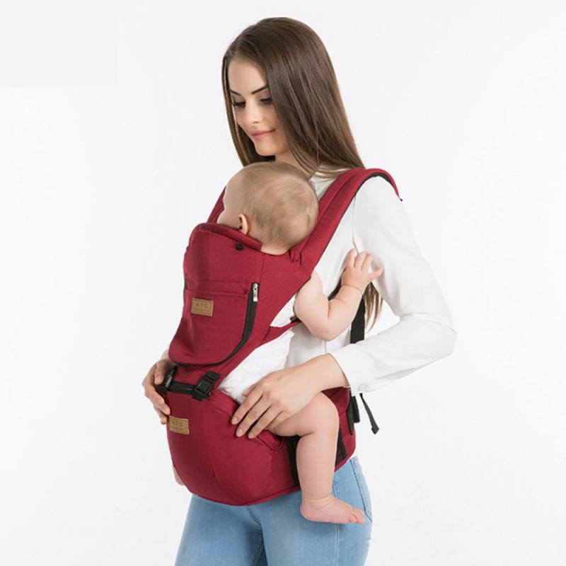 Baby Strap Carrier Breathable Baby Waist Stool Multifunctional Four Seasons Universal Back Baby Windproof