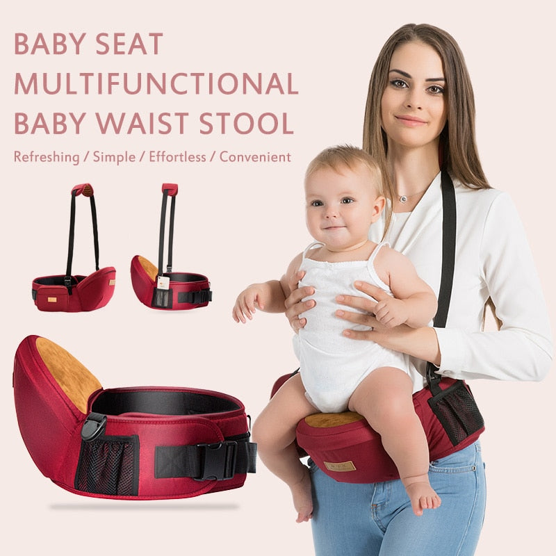 Newborn Baby Carrier Baby Carrier Hip Seat Seat Ergonomic Multifunction Breathable Carriers For 0-48 Months Baby
