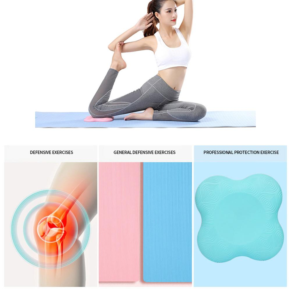 Yoga knee pads Cushion Mats Knee Wrist Elbow protect Pad for Sports Fitness Exercise Yoga Non-slip Protective Mats