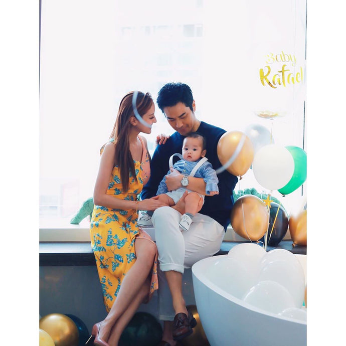 Grace Chan's Baby Boy