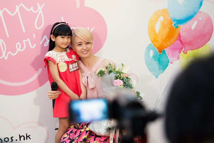 Actress and singer Gigi Leung shared her happiness with NANOS in Mother's Day