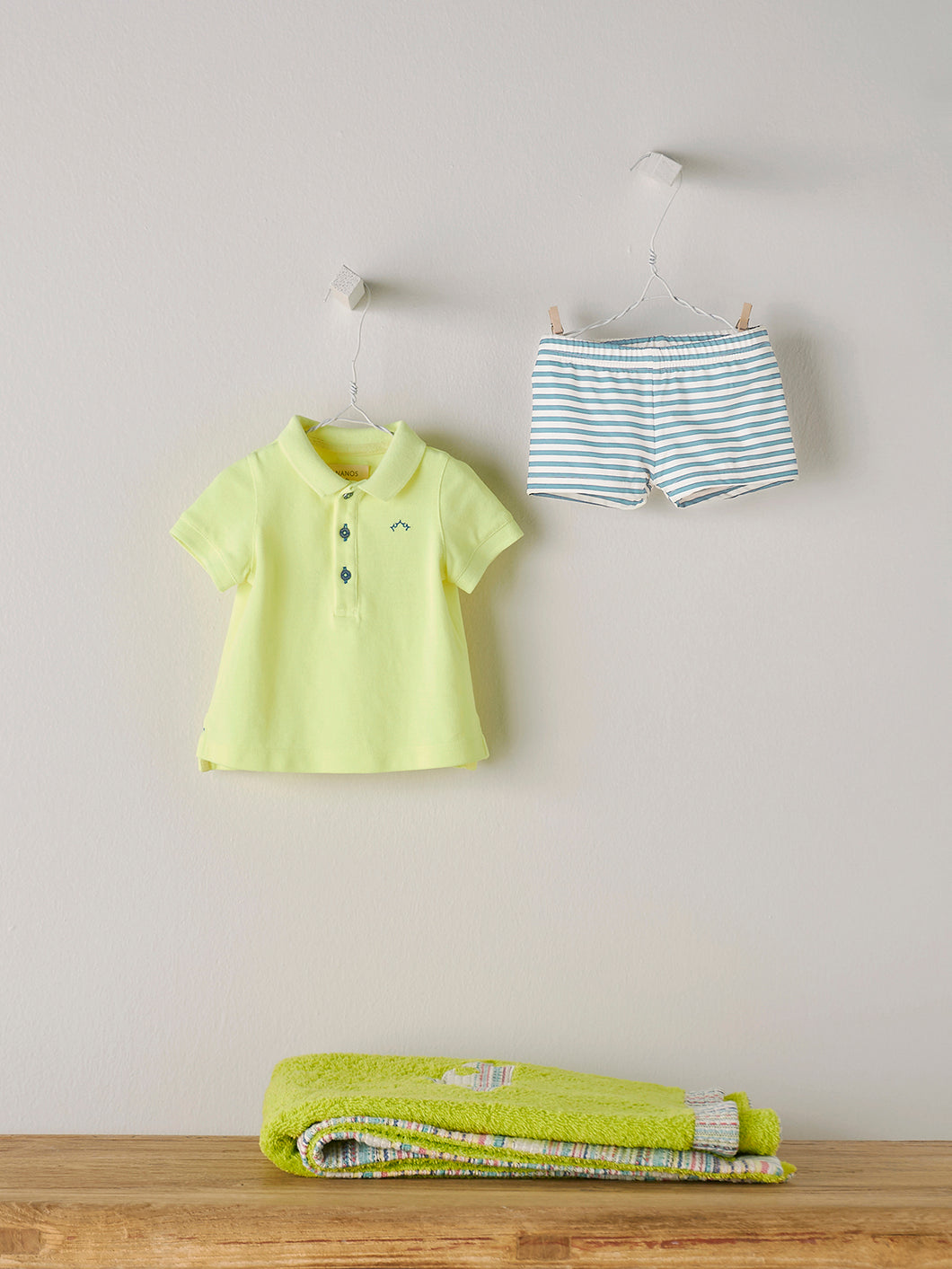 BABY POLO IN YELLOW