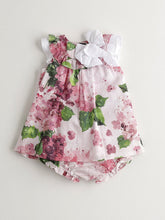 Load image into Gallery viewer, BABY GIRL PINK COTTON DRESS