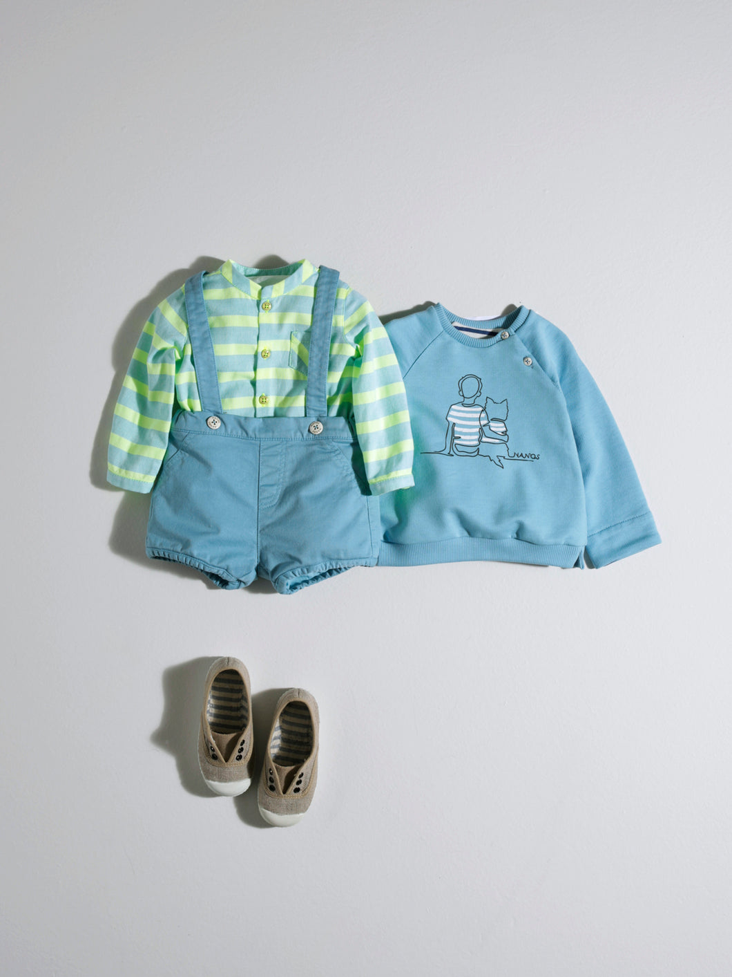 LITTLE BOY SHORTS IN TURQUOISE COLOUR