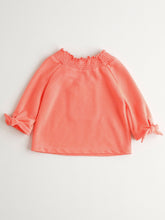 将图片加载到图库查看器,SUPER CUTE NEON CORAL SWEATER FOR GIRLS