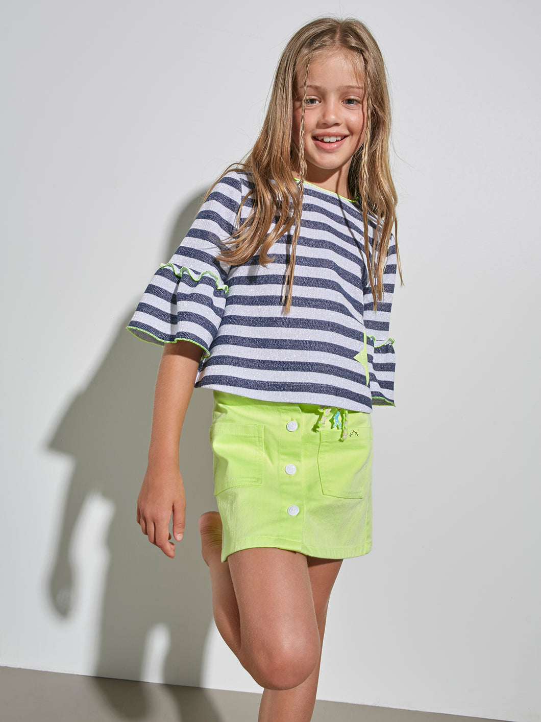 STRIPED  SWEATER FOR GIRLS