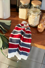 Load image into Gallery viewer, BOYS RED AND GRAY KNITTED JUMPER