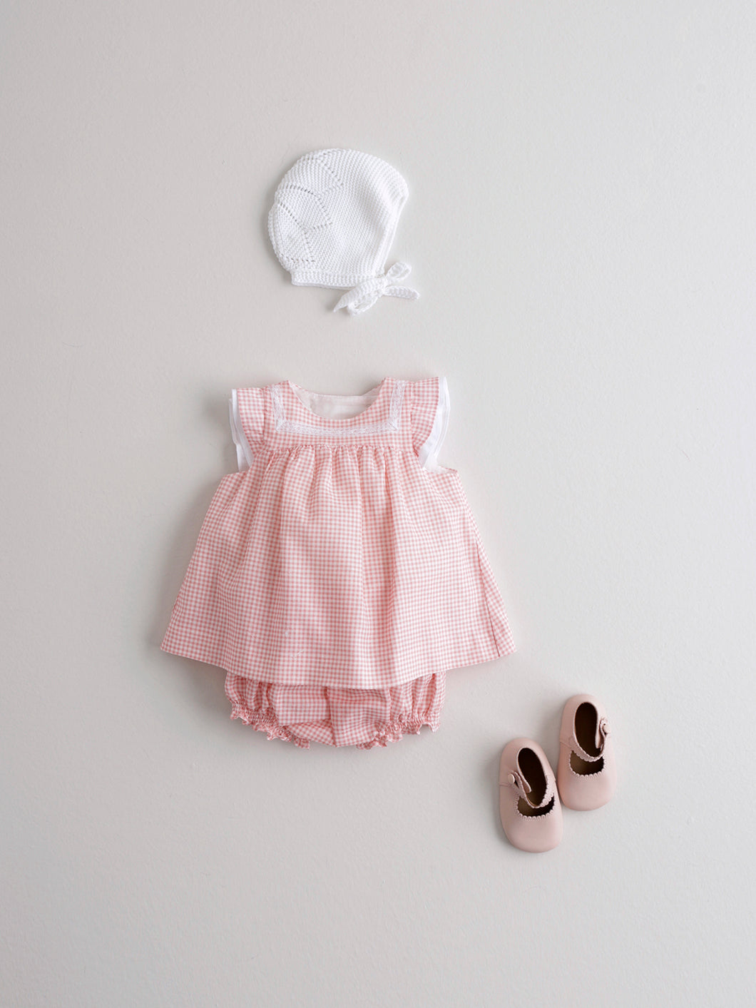 BABY GIRL CHECKED DRESS