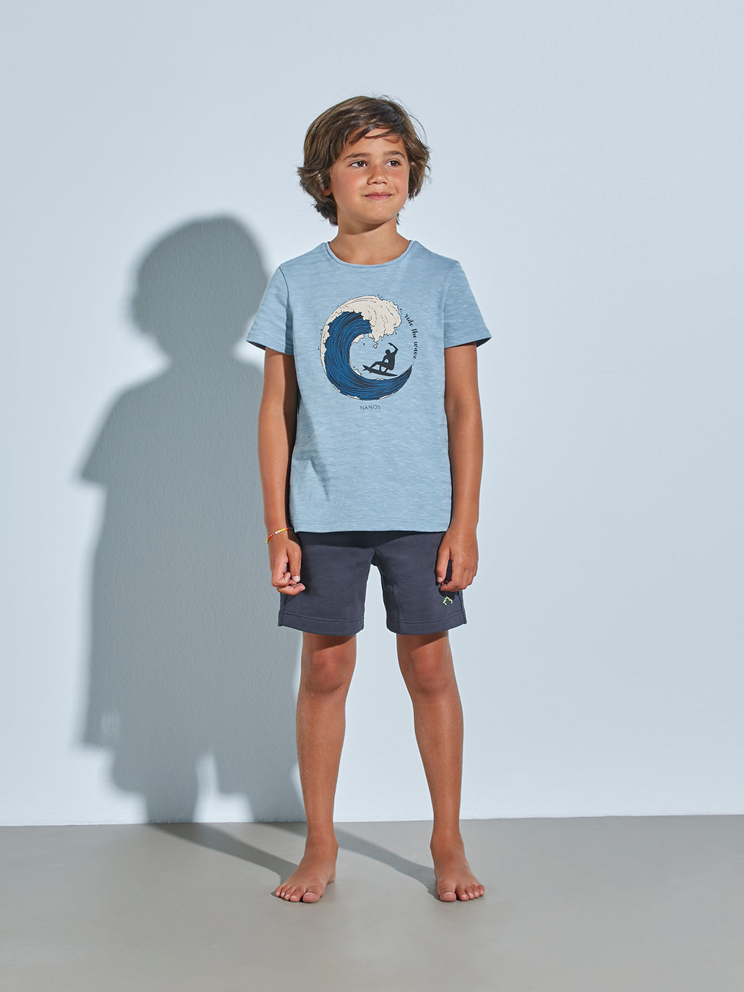 LIGHT BLUE T-SHIRT FOR BOYS