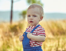Load image into Gallery viewer, BABY BOY RED AND WHITE SHIRT